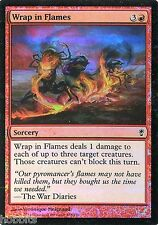 MTG - Conspiracy - Wrap in Flames - Foil - NM