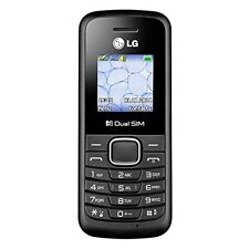 New LG B220A Unlocked GSM Quad-Band Dual SIM Phone (Black)