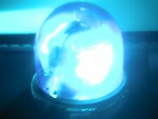 FEDERAL SIGNAL VINTAGE 17 TALL BEACON RAY LIGHT•RECHROMED•BLUE DOME•PRISTINE•