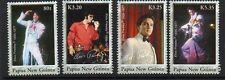 PAPUA NEW GUINEA SG1146/9 2007 ELVIS PRESLEY MNH