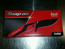 SO88R SNAP ON TOOLS KERSHAW RED DASH KNIFE - NEW IN BOX!