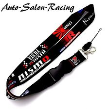 For NISSAN NISMO GT-R Lanyard Neck Cell Phone Key Chain Strap Quick Release JDM