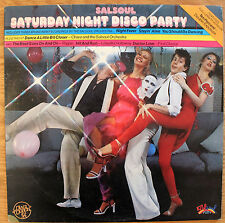 SALSOUL SATURDAY NIGHT DISCO PARTY Ripple LOLEATTA HOLLOWAY UK LP EX SSLM 4001