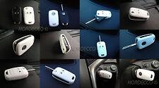 Di alta qualità portachiavi in Silicone Protector Case Opel/Vauxhall Astra, Insignia Bianco