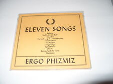 Ergo Phizmiz - Eleven Songs (2013) CD DIGIPAK -NEW -FREE FASTPOST