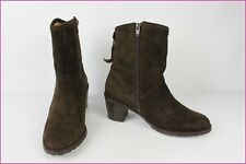 Bottines AIGLE Daim Marron T 37 TBE
