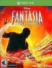 DISNEY FANTASIA MUSIC EVOLVED XBOX ONE NEW! LET IT GO DEMI LOVATO, DRAKE, BRUNO