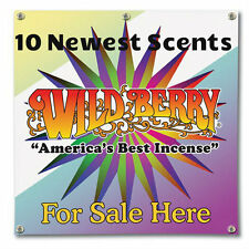 "100 Incense 11"" Sticks Wild Berry 10 New Scents 10 Each Americas best Incense"