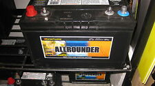 ALLROUNDER DEEP CYCLE & STARTING BATTERY 105 amp hour 760cca  SALE PRICE SPECIAL