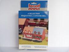 JOUEF MAQUETTE BLOC 2 IMMEUBLES BRIQUES REF 198200