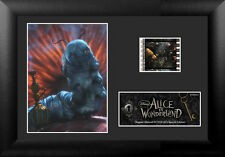 Film Cell Genuine 35mm Framed Alice In Wonderland Absolem Catapillar USFC5338