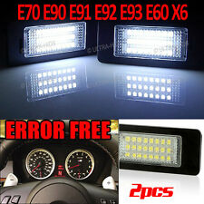 BMW E82 E88 E39 E60 E61 E70 E90 E91 E92 E93 M3 LED License Number Plate lights