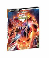 NEW Brady Games Ultimate Marvel vs Capcom 3 Strategy Game Guide Softcover Book