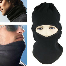 HOT Warmer Black Full Face Cover Winter Ski Mask Police Swat Ski Mask Beanie
