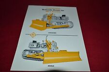 Allis Chalmers HD-6 Hydraulic Dozers Dealers Brochure YABE11 VER95