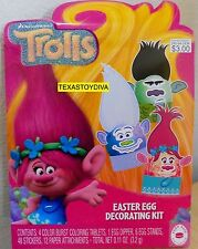 Trolls Movie Easter Egg Decorating Kit Poppy Branch 2017 Stickers Coloring Tabs