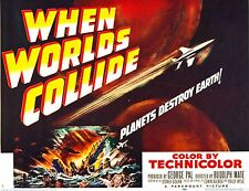 WHEN WORLDS COLLIDE (DVD) 1951 Science Fiction