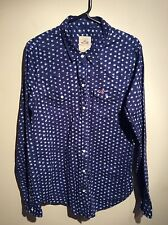 Womens Blue Hollister Shirt Uk Size Medium