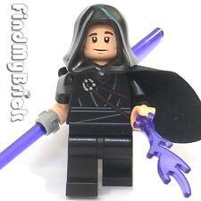 SW623 Lego Custom Jedi Minifigure with Double Lightsaber & Lighting Force DP NEW
