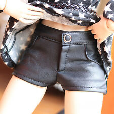 1/3 MSD MDD SD SD13 BJD Doll Clothes Black  Fashion Leather Shorts/Pants