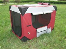 PUPPY POWER PORTABLE PET HOME, SOFT CRATE, COLLAPSIBLE DOG KENNEL-  LARGE 91CM