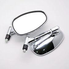Chrome Side Mirrors For Kawasaki VN2000 Vulcan VN1600 VN1500 VN900 VN800 VN400