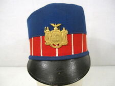 Spanish American War US Army New York National Guard Shako Style Helmet