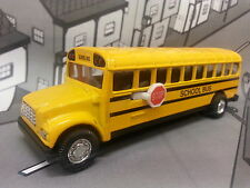 """Brand New 5"""" Yellow School Bus Diecast metal model toy pull back n go action 115"""