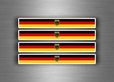 4x sticker adesivi adesivo vinyl auto moto tuning bandiera jdm germania royal