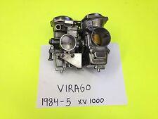 YAMAHA VIRAGO XV 1000 SET OF POLISHED  HITACHI CARBS CARBURETORS 1984-5
