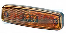 RUBBOLITE TRUCK-LITE 891/03/04 RECTANGLE AMBER/ORANGE SIDE LED MARKER LAMP LIGHT