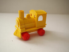 Vintage Viking Plastic YELLOW train NO 4265 made in Sweden