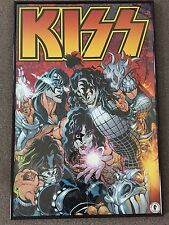 * Was £45 * KISS Band Dark Horse Comics Framed Promo Maxi Poster Rock Metal RARE
