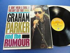 GRAHAM PARKER & THE RUMOUR  IT DON'T MEAN A THING IF YOU AINT GOT THAT SWING