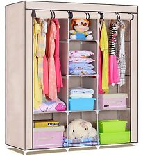 FOLDING WARDROBE CUPBOARD ALMIRAH-XI- BG