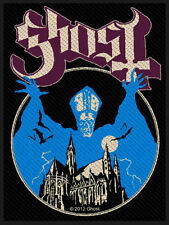 Ghost - Opus Eponymus Album Cover B.C. Patch Aufnäher neu Hard Rock Metal Doom