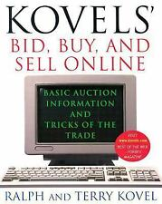 Kovel's Bid Buy Sell Online Auction Information Tricks of Trade Paperback Book