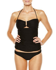 Women's Billabong Daylight Black Tankini Swimsuit, Size 8. NWT. RRP $79.99.