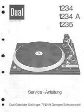 Dual manual de servicio para 1234-1234 a-1235