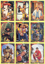 POWER RANGERS SERIES 2 1994 COLLECT-A-CARD COMPLETE BASE CARD SET OF 72