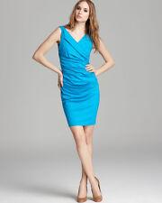 NWT Diane Von Furstenberg BENTLEY SLEEVELESS BLUE MACAW DRESS  Large Retail $285