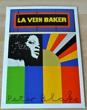Sir Peter Blake Signed Autograph Official Postcard LA VERN BAKER ART & COA