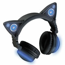 Brookstone Wireless Cat Ear Headphones (Color Changing)