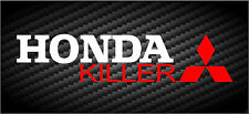 Honda Killer Mitsubishi Decal JDM Car Window Funny Vinyl STICKER