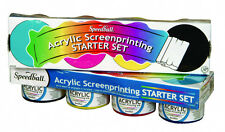 Speedball Screen Printing Ink Acrylic Starter Set