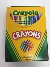 Crayola Crayons 24 Count. Bright And Vivid Colors Circa 2002 C320B