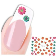 3D Nagel Sticker New Design Flower Blume Glitzer Aufkleber Nail Art
