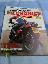 motorcycle mechanics(april29th-may12th1981)KC100/GPz1100/GSX400/RD50/TS50/SB200