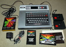 MAGNAVOX ODYSSEY VIDEO GAME SYSTEM WITH CONTROLLERS, POWER AND GAME