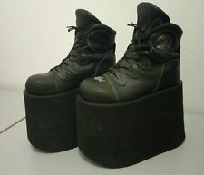 Swear Platform Shoes CYBER GOTH RAVE CLUB KID VINTAGE 90's - LIKE BUFFALO